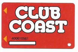 Coast Casinos, NV, Older Used Slot Or Player's  Card, # Coast-3   The Orleans, Suncoast, Gold Coast, Barbary Coast - Cartes De Casino