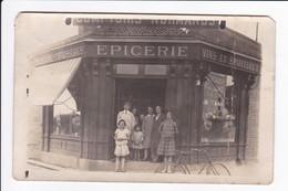 """Carte Photo - Epicerie-Mercerie-Chaussures Des """"Comptoirs Normands"""" (pourrait Se Situer Au HAVRE!!!!) Dans Son Jus - Fotos"""