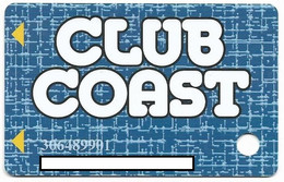 Coast Casinos, NV, Older Used Slot Or Player's Card, # Coast-4   The Orleans, Suncoast, Gold Coast, Coast-4 - Cartes De Casino