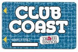 Coast Casinos, NV, Older Used Slot Or Player's Card, # Coast-4b  The Orleans, Suncoast, Gold Coast, Coast-4 - Cartes De Casino