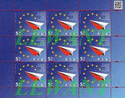 2014.05.01. 10th Anniversary Of Polish Accession To The European Union - MNH Sheet - Nuovi