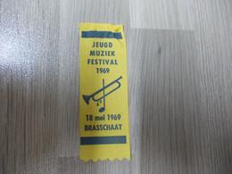 Lintje Uit Nylonlint Brasschaat Jeugd Muziek Festival 18 Mei 1969 - Altri