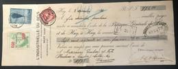 Belgique 1932 Mandat Oblitéré Avec 354 Etn317 - Used Stamps