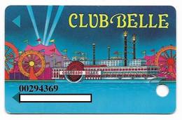 Colorado Belle Casino, Laughlin, NV,  U.S.A., Older Used Slot Or Player's Card, # Coloradob-1 - Cartes De Casino