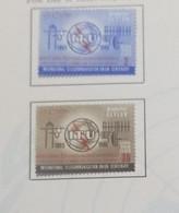 O) 1965 CEYLAN, SRI LANKA, ITU, OLD AND NEW COMMUNICATION EQUIPMENT, SCT 384-385, XF - Sri Lanka (Ceylon) (1948-...)