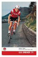 CARTE CYCLISME ATTILIO ROTA TEAM DREHER 1971 - Cycling