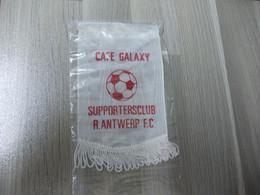 CAFE GALAXY Kleine Wimpel Uit Satijnstof Voetbal Supportersclub R.ANTWERP F.C. - Altri