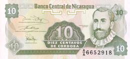 Nicaragua 10 Centavos, P-169 (1991) - UNC - Nicaragua