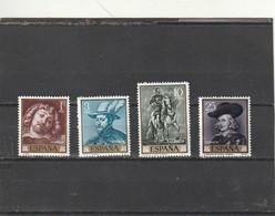 ///   ESPAGNE ///  Série - N°  1099 /1102  ** Neufs Unused Côte 22€ - 1961-70 Unused Stamps