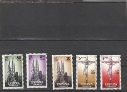 ///   ESPAGNE ///  Série - N° 965/970  Neufs**unused Côte 15€** Les 6 (erreur 5 Sur La Photo) - 1951-60 Unused Stamps