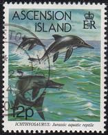 Ascension 1994 Used Sc #575 12p Ichthyosaurus - Ascension (Ile De L')