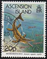 Ascension 1994 Used Sc #576 20p Metriorhynchus - Ascension (Ile De L')