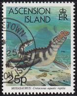Ascension 1994 Used Sc #577 25p Mosasaurus - Ascension (Ile De L')