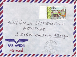 ELFENBEIBKÜSTE  COTE D' IVORE  Luftpostbrief   Airmail Cover  GAGNOA To Germany  Verkehr Transport - Côte D'Ivoire (1960-...)