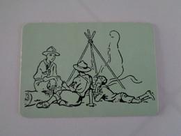 Scouts CNE Agrupamento 331 S. Dâmaso Guimarães Portugal Portuguese Pocket Calendar 1989 - Petit Format : 1981-90
