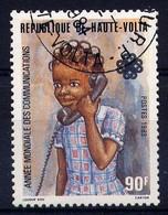 Hte VOLTA - 600° - TELEPHONE - Haute-Volta (1958-1984)