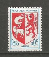 Timbre France Neuf ** N 1468b N Rouge Au Verso - Varieties: 1960-69 Mint/hinged