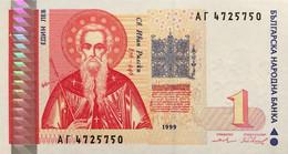 Bulgaria 1 Lev, P-114 (1999) - UNC - Bulgaria