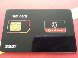 GRECE SIM GSM Vodafone Black - With Numbers USIM RARE MINT (BH1219b5 - Greece