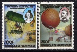 HAUTE VOLTA  - A245/246° - AÉROSTATS - Haute-Volta (1958-1984)