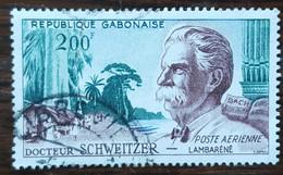 Gabon - YT Aérien N°1 - Docteur Albert Schweitzer - 1960 - Oblitéré - Gabon (1960-...)