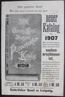 Bessere DR Ganzsache PZD 2X Mit Wasserzeichen, Gelaufen, Gebrüder Senf (775) - Stamped Stationery