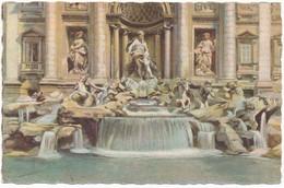 2d.121.  ROMA - Fontana Di Trevi - Artistica Ediz. A. Scrocchi - Multi-vues, Vues Panoramiques
