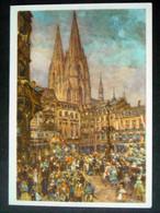 DR Ganzsache P 277 Gelaufen Mit Sonderstempel (655) - Stamped Stationery
