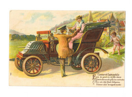 L'amour Et L'automobile - Gaufrée - Ange - AN016 - Other