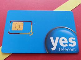 SIM GSM Yes Telecom Russia ?? UYA - With Numbers USIM RARE MINT (BH1219b5 - Russia