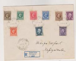 MONTENEGRO ITALY 1944 HERCEG NOVI  Registered Cover - Montenegro