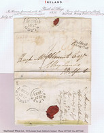 Ireland Sligo Belfast Letter Ardnaglass To Belfast PAID AT/SLIGO, SLIGO Jy 21 1838, Italic Belfast/Penny Post - Prephilately