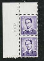 Boudewijn Bril Nr. 1029 - 5 Fr. Postfris Xx - Drukdatum 25.IX.57 - 1953-1972 Anteojos