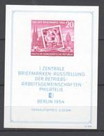 DDR , Block 10 Postfrisch ( 50.-) - Blokken