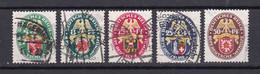 Deutsches Reich - 1929 - Michel Nr. 430/434 - Gestempelt - 190 Euro - Used Stamps