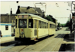 Motrice S 41010 Et Remorque Braine-le-Comte à Chapelle-lez-Herlaimont Rue Solvay - Chapelle-lez-Herlaimont