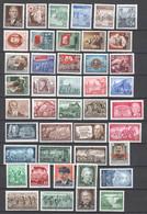 DDR , Lot Postfrischer Marken 50er Jahre ( 237.-) - Unused Stamps