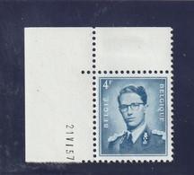 Boudewijn Bril Nr. 926 - 4 Fr. Postfris Xx - Drukdatum 21.VI.57 - 1953-1972 Anteojos