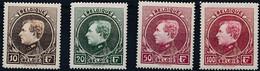 [** SUP] N° 289/92, La Série Complète Tirage De Paris - Fraîcheur Postale - Cote: 800€ - 1929-1941 Groot Montenez