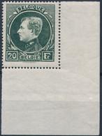 [** SUP] N° 290B, 20F Vert-foncé Avec Coin De Feuille. LUXE - Cote: 1050€ - 1929-1941 Groot Montenez