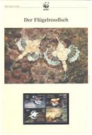 Malediven 2004 - WWF Der Flügelrossfisch - Komplettes Kapitel Postfrisch MK FDC - Unclassified