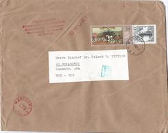 Polen Brief Uit 1969 Met Meerdere Stempels En 2 Zegels (1378) - Storia Postale