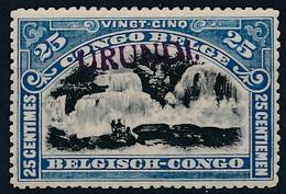 [* SUP] N° 19B, 25c Bleu 'URUNDI' Type Du Havre. Infime Trace - Cote: 63€ - Unclassified