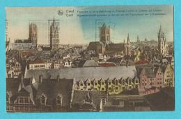 * Gent - Gand (Oost Vlaanderen) * (Nels, Ern Thill) Panorama Vu De Plate Forme Du Chatelet D'entrée Chateau Des Comtes - Gent