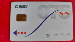 "GSM Proximus. 9097; ""3V"" Type 2 - [2] Prepaid & Refill Cards"