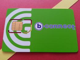 BULGARIE SIM GSM B-connect 1 - With Numbers USIM RARE MINT (BH1219b5 - Bulgaria