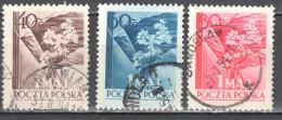Poland 1954 - Labour Day - Mi.842-44 - Used - Usati