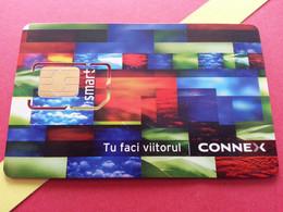 ROUMANIE SIM GSM CONNEX Smart - With Numbers USIM RARE MINT (BH1219b5 - Romania