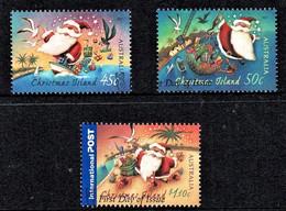 Christmas Island 2007 Christmas Set Of 3 Used - - Christmaseiland