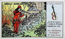 ► Chromo  Guérin -Boutron  La Viole D'amour  Violon Alto Serenade - Guerin Boutron